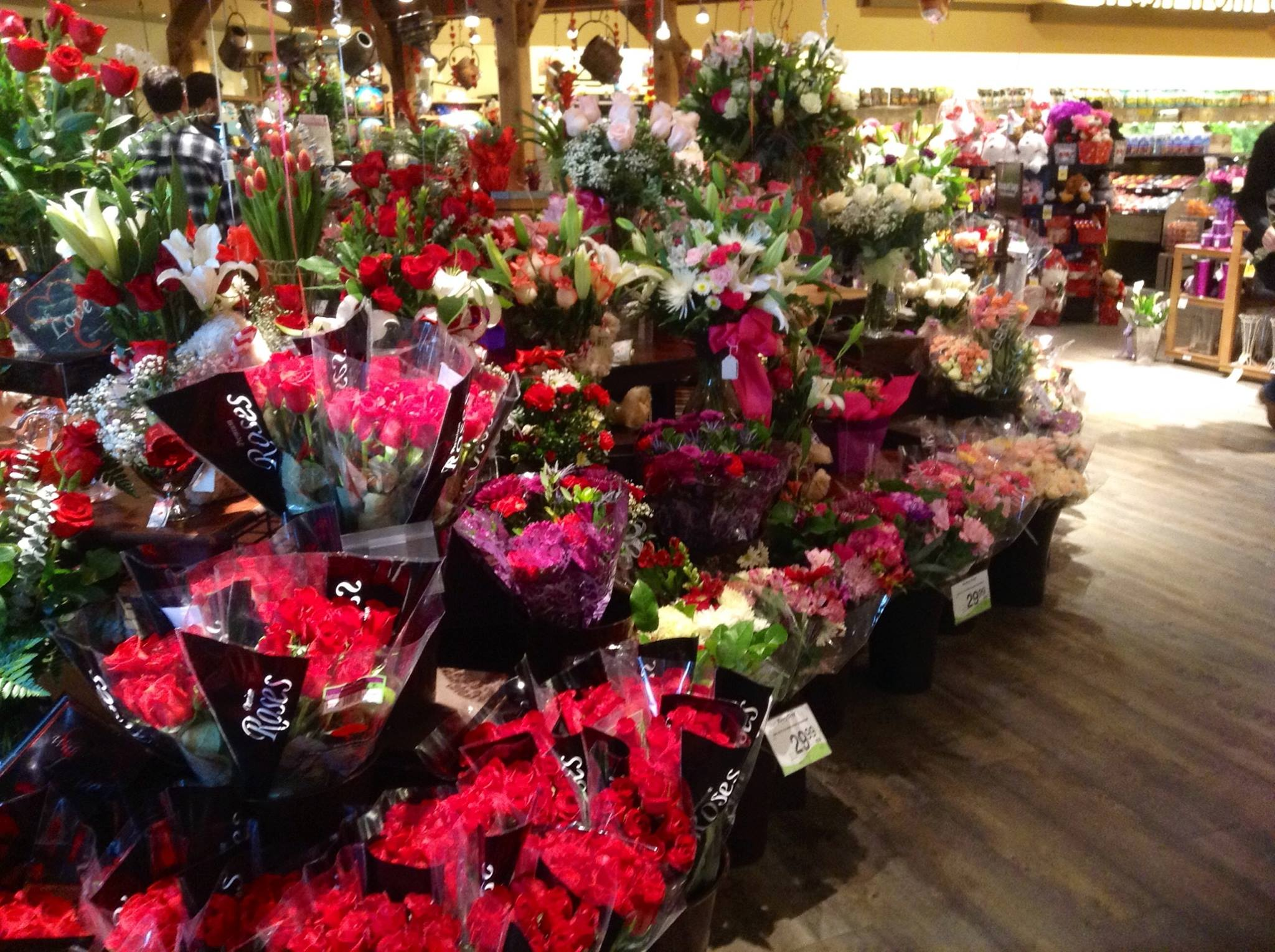 Valentines Day For A Safeway Floral Manager Managing Retail